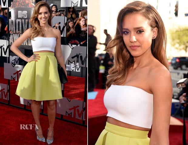 Jessica-Alba-In-Piece-dAnarchive-Kenzo-MTV-Movie-Awards-2014