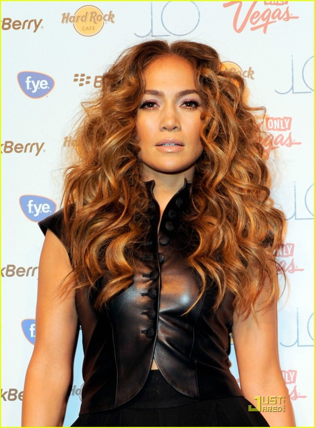 """Jennifer Lopez CD Signing To Celebrate Her New Album """"LOVE?"""" At The Hard Rock Cafe Hollywood"""