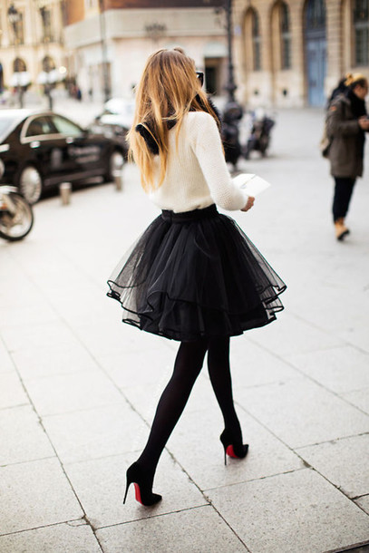 pljin3-l-610x610-skirt-black-tutu-skirt-cute-shoes-underwear-top-tulle-skirt-black-skirt-blouse-love-beautiful-skirt-classy-red-heels-tights-sweater-girly-girly-outfits-tumblr